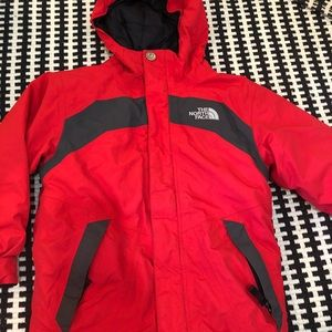 Boys size small north face